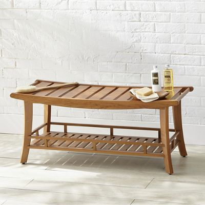 Remarkable Teak Spa Bench Gmtry Best Dining Table And Chair Ideas Images Gmtryco