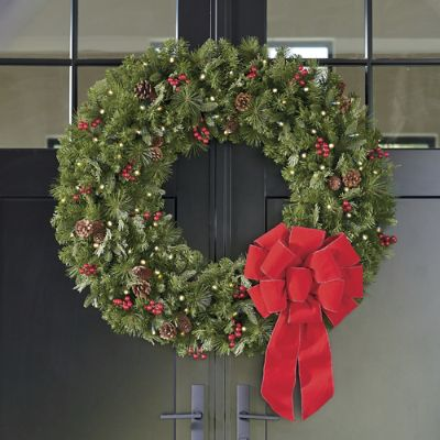 Double Door Wreath Grandin Road