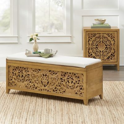 Fabulous Marisol Cabinet Storage Bench Gmtry Best Dining Table And Chair Ideas Images Gmtryco