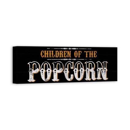 Children of the Popcorn Wall Art   Grandin Road