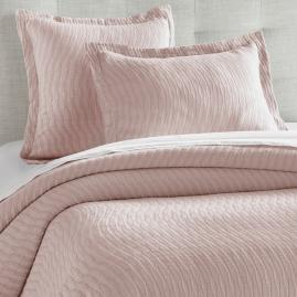 Priya Matelasse Coverlet and Shams