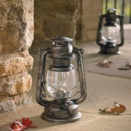 Battery-operated Lanterns, Set of Two