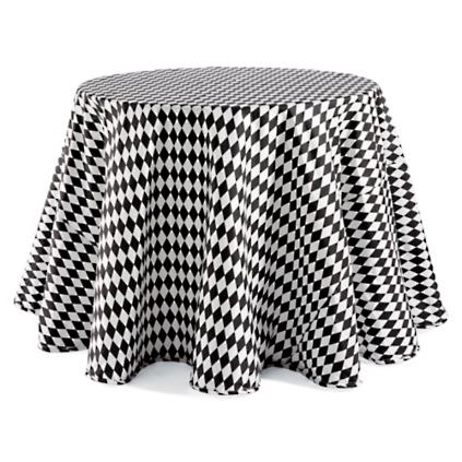 Harlequin Faux Dupioni Round Tablecloth