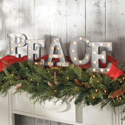 Peace Marquee Letters Grandin Road