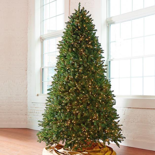 - Grand Fir Artificial Christmas Tree With Wheeled Stand Grandin Road