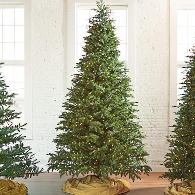 Natural Fraser Fir Artificial Christmas Tree - Natural Fraser Fir Artificial Christmas Tree Grandin Road