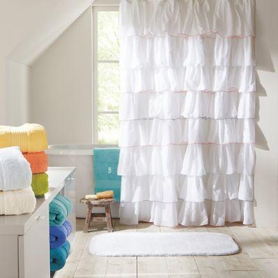 Frill Shower Curtain Grandin Road