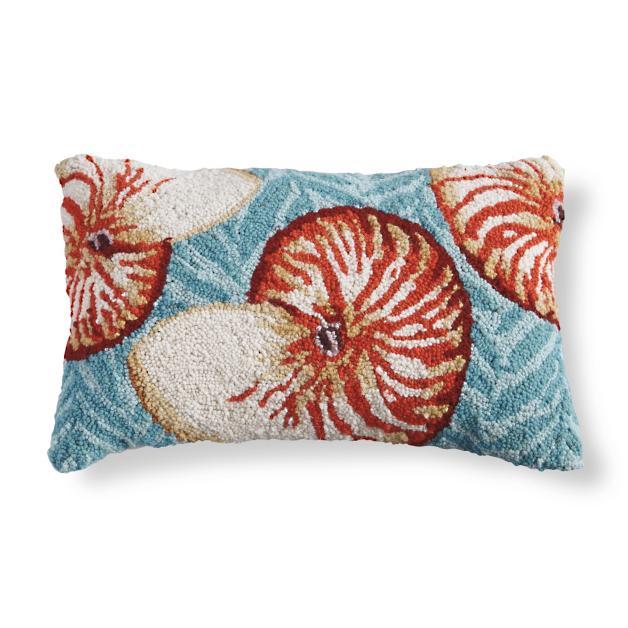 Marina Nautilus Lumbar Pillow