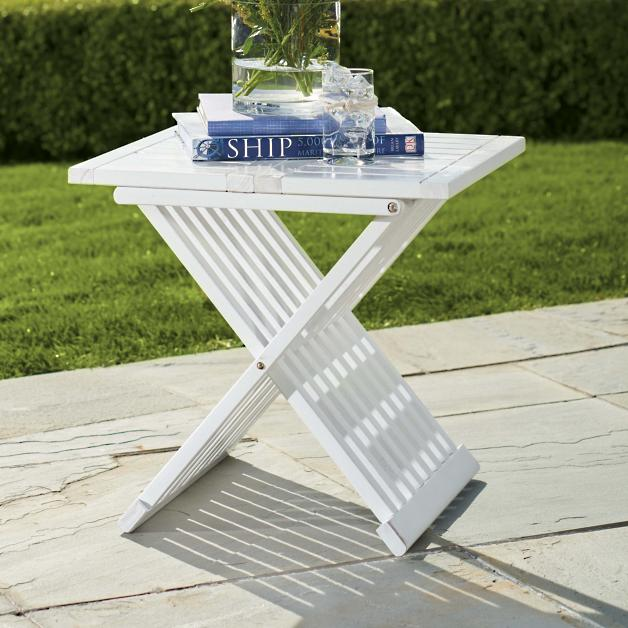 - Farrah Outdoor Folding Table Grandin Road