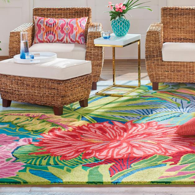Image result for tropical inspired rug