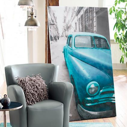 Vintage Car Wall Art   Grandin Road