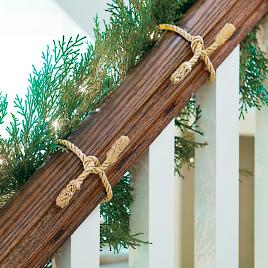 0fdac5f0279a Decorative Garland Ties, Set of Six