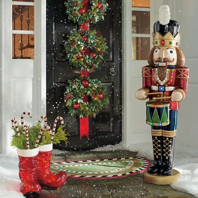 5 Ft Musical Nutcracker Grandin Road
