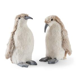 Snowy Penguins, Set of Two