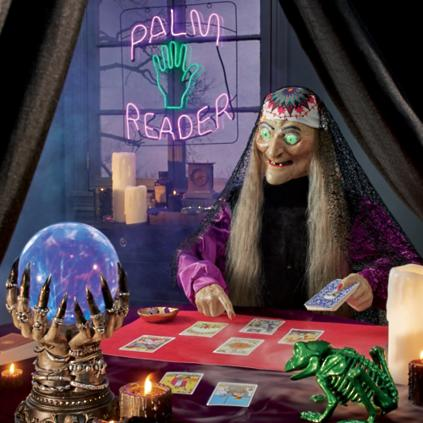 ANIMATED ZALTANA FORTUNE TELLER