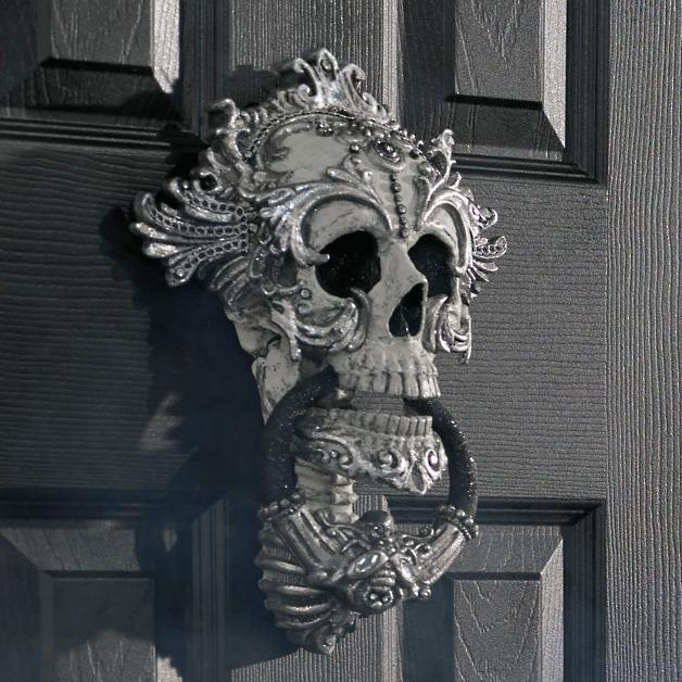 Katherine S Collection Skull Door Knocker Grandin Road