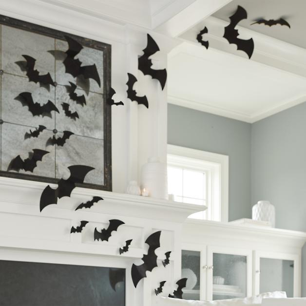 Orted Felt Bats Set Of 12