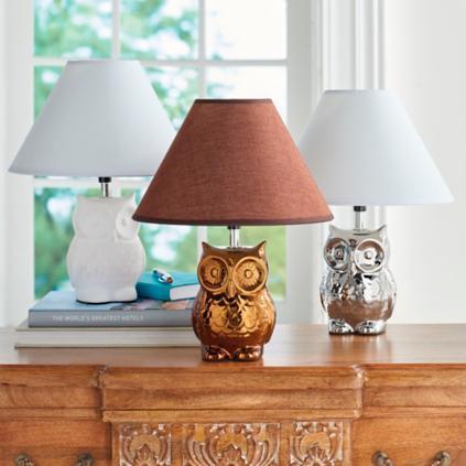 Owl table lamp grandin road owl table lamp aloadofball Choice Image