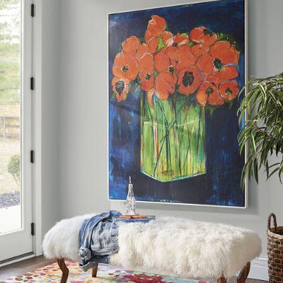 Still Life With Flowers Artwork Grandin Road