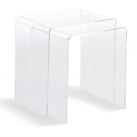 Chamonix Acrylic Table Collection
