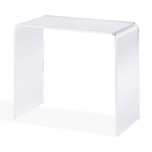 Chamonix Acrylic Console Table