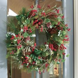 Savannah Cordless Wreath