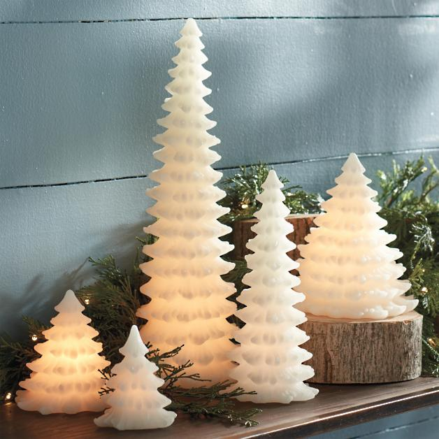 Tree Shaped LED Candle | Grandin Road