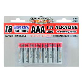 AAA Batteries, 18 Pack