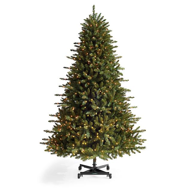 Grand Fir One-Step Inversion Artificial Christmas Tree - Grand Fir One-Step Inversion Artificial Christmas Tree Grandin Road
