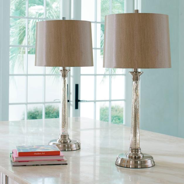 Brooks Table Lamps Set Of Two Grandin Road