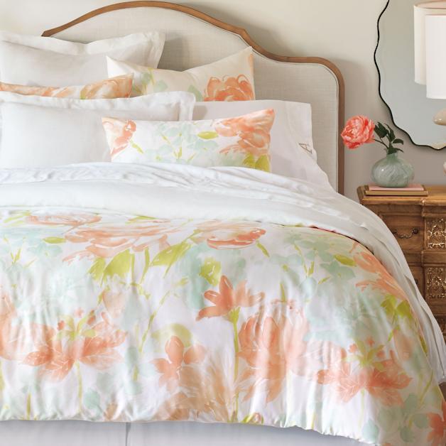 2ea5a2587c46 Camille Floral Duvet Cover | Grandin Road