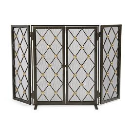 Byron Fireplace Screen & Tool Set