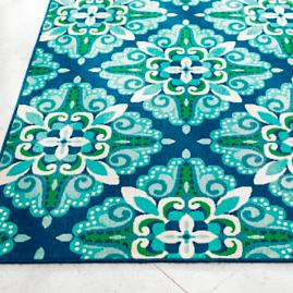 Tortola Baroque Outdoor Rug