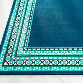 Tortola Border Outdoor Rug