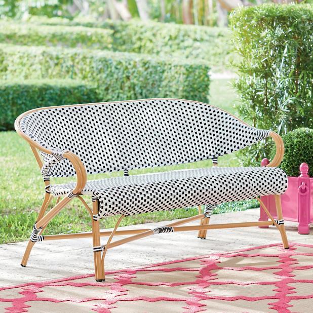 Astounding Monet Loveseat Grandin Road Evergreenethics Interior Chair Design Evergreenethicsorg