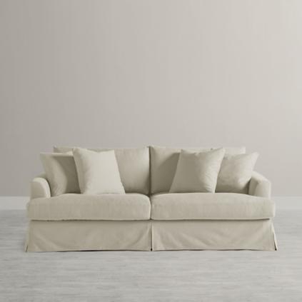 Ava Slipcovered Sofa