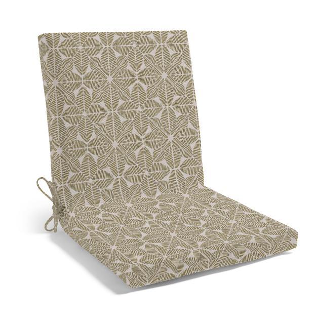 Knife Edge Highback Chair Cushion Grandin Road