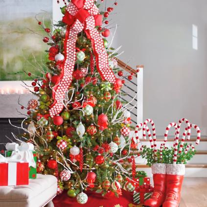 holly jolly designer trim kit - How To Decorate A Designer Christmas Tree
