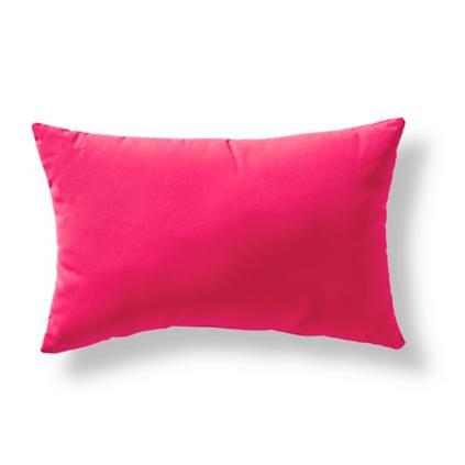Hot Pink Outdoor Lumbar Pillow