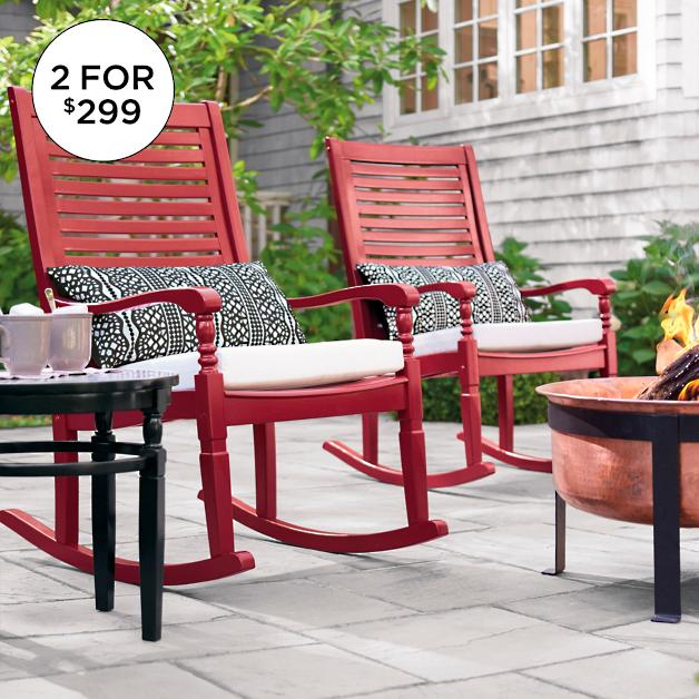 6f310f794c Set of Two Nantucket Rocking Chairs | Grandin Road