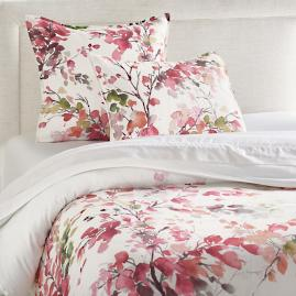 Autumn Blossom Duvet Cover and Shams