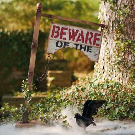 """Beware of"" Sign"
