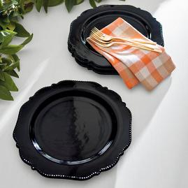 Midnight Dinner Plates, Set of Four
