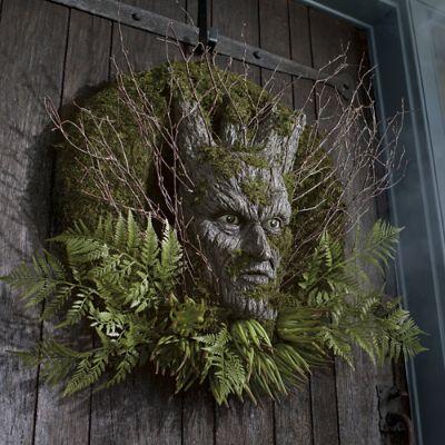 Dark Forest Wreath Grandin Road