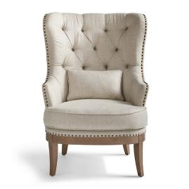 James Wing Chair & Ottoman