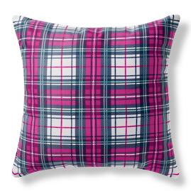 Alina Outdoor Plaid Pillow