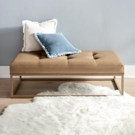 Alex Tufted Bench