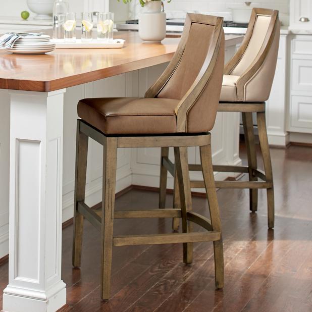 Outstanding Ellis Swivel Bar Counter Stool Grandin Road Evergreenethics Interior Chair Design Evergreenethicsorg