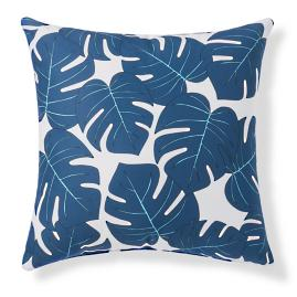 Celeste Palm Leaf Outdoor Pillow