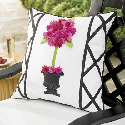 Topiary Outdoor Pillow Grandin Road
